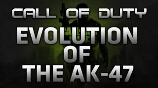 AK 47 Call Of Duty Gun Evolution By Piston2x
