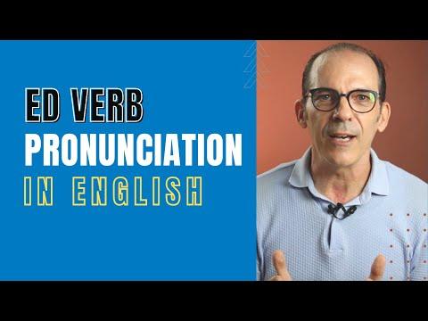 Pronunciation of the ed endings of Regular Verbs (Simplified)!!