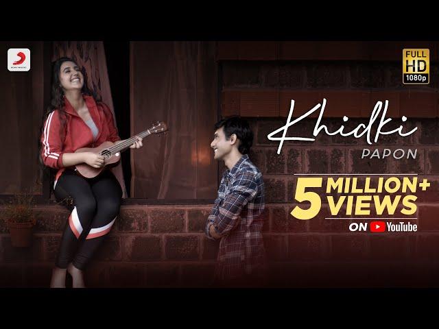 Khidki Lyrics -  Papon Full Song Lyrics | Ashnoor Kaur - Lyricworld