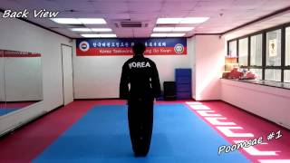 Learning Taekwondo basic movements(Seogi)