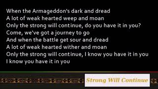 Nas & Damian Marley - Strong Will Continue [Lyrics]