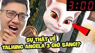TALKING ANGELA 3 GIỜ SÁNG, SỰ THẬT LÀ GÌ?? (Sơn Đù Vlog Reaction)