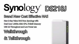 Synology DiskStation NAS DS218j 2-Bay (512MB RAM)