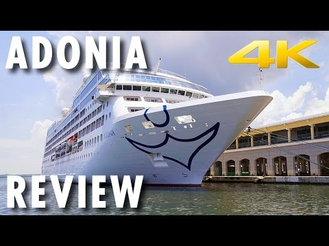 Adonia Tour & Review ~ Fathom ~ Cruise Ship Tour & Review ~ Cuba ~ Cruise Review [4K Ultra HD]