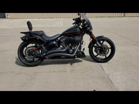 2016 Harley-Davidson CVO™ Pro Street Breakout® in Ames, Iowa - Video 1