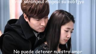 Park Jang Hyun & Park Hyun Kyu -- Love Is... Lyrics (The Heirs OST) [Sub español-romanización] ~♥