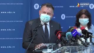 Nelu Tătaru: La trei cazuri de infecţie în clase diferite se închide şcoala