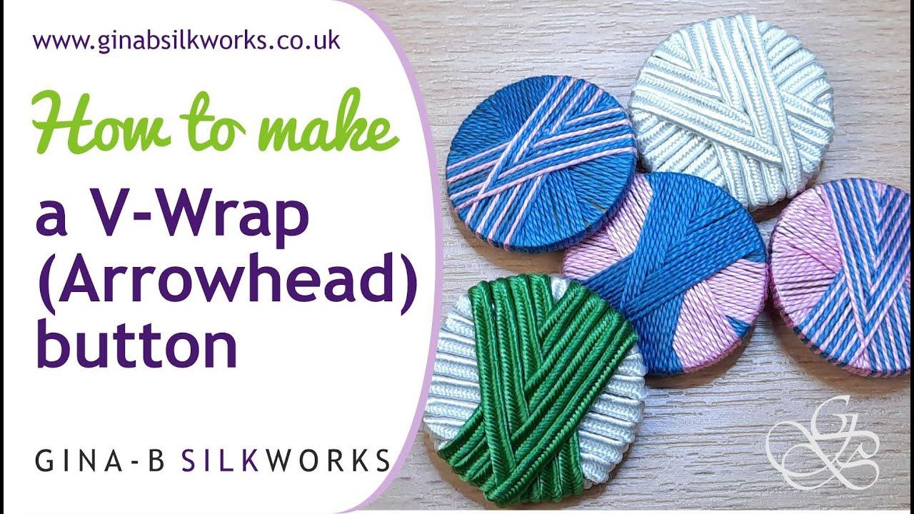 How to Make a V-Wrap Button