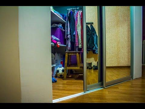 Встроенный шкаф купе из гипсокартона