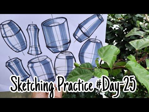 Sketch With Me #Sketching Practice #Day-25#ceedpreperation#nid#dailysketch#nid#ceed#sketch
