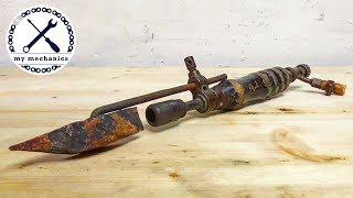Античный Паяльник (Паяльная Лампа) – Реставрация
