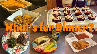 What's for Dinner?| Family Meal Ideas| October 8-14, 2018