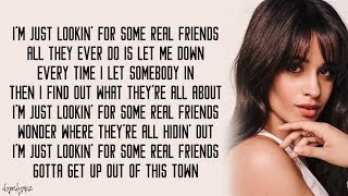 Real Friends   Camila Cabello (Lyrics)