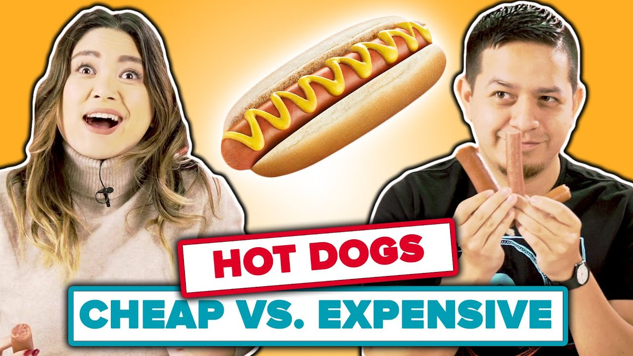 Cheap vs Expensive: Hot Dogs thumbnail