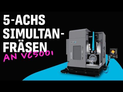 VC500i - 5-Achs Simultanfräsen