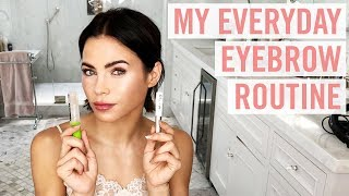 HOW TO: Easy, Natural Eyebrows | Tutorial & Fave Products! | Jenna Dewan
