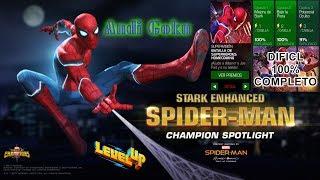 LEVEL 60 - BATALLA DE SUPERHEROES HOMECOMING - (dificil al 100% completo) - Marvel: Contest of Champ