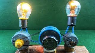 Self Running Motor Using Free Energy Generator