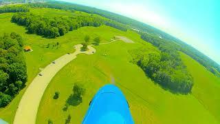 DJ-2 FPV Flight on P-51 Mustang 12S wingspan 89 inch !!!!!