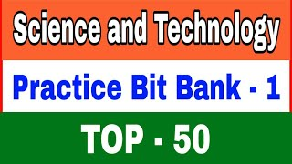 Science and Technology question and answer Practice bits in telugu || Top - 50 bits from Biotechnolo