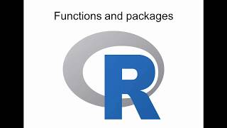 Introduction to functions and packages in R