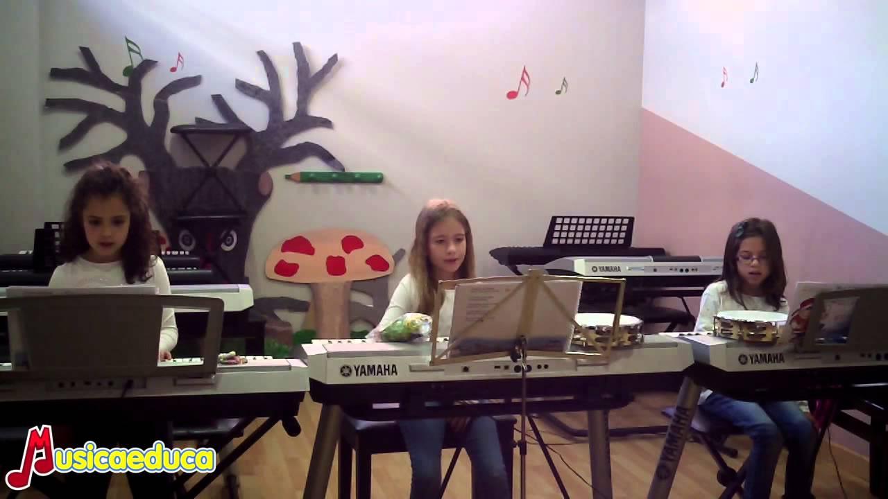 Canción del viento - Grupo de alumnos de Mi Teclado 4 - Acordes Escuela de Música Moderna