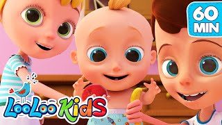 Apples And Bananas   LooLoo Kids Nursery Rhymes And Children`s Songs
