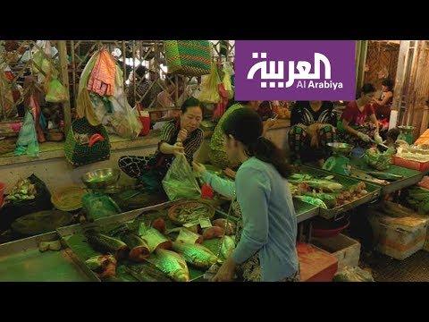 العرب اليوم - شاهد: جولة في أكبر أسواق آسيا