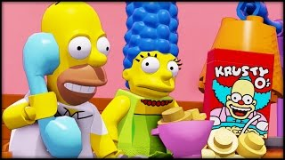 LEGO Dimensions - The Simpsons Level Pack - Part 1/2