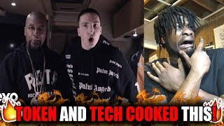 TOKEN IS COOKIN! | Token   Youtube Rapper Ft. Tech N9ne (REACTION!)