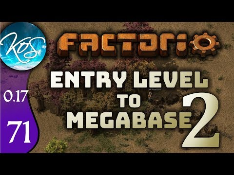 Factorio 0.17 Ep 71: OIL TO REFINERY - Entry Level to Megabase 2 - Tutorial Let's Play, Gameplay