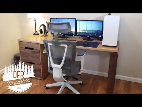Building a Modern Computer Desk