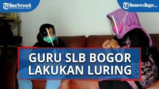 Lakukan Home Visit, Guru SLB ABCD Sejahtera Kota Bogor Ajarkan Pengembangan Diri