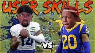 Who's Better? Stefon Diggs Vs Jalen Ramsey! (Madden 21 User Skills)