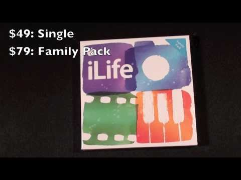 Apple iLife '11 (Family Pack): Unboxing & Installation