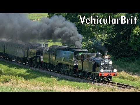 The Swanage Railway 'Southern Sunrise' Steam Gala 9th July 2…