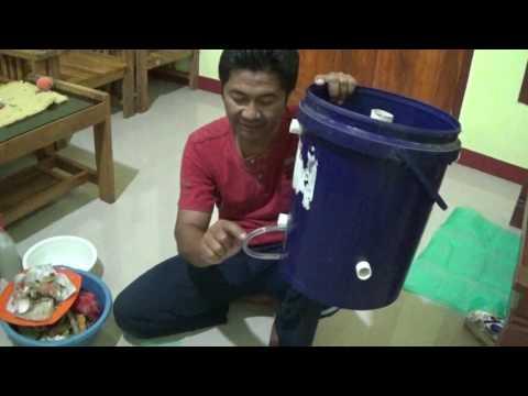 Cara Membuat Komposter Sederhana Mudah Murah dari Ember Bekas untuk Fermentasi Limbah Dapur