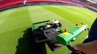 The New Dennis PRO 34R Rotary Mower