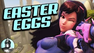 12 OVERWATCH Easter Eggs YOU Probably MISSED | The Leaderboard