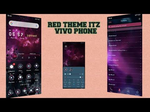 Red Theme itz For Vivo - смотреть онлайн на Hah Life