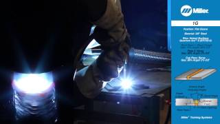Welding Certification Position 1G: Flat Groove Weld