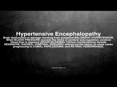 Dapoxetin bei Hypertonie