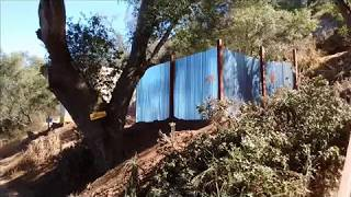 Lake Wholford - Off Grid Project - Sheet Metal Fences