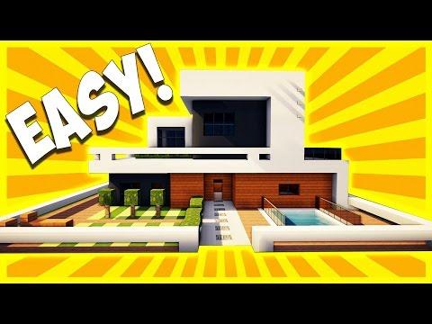 Modern House Tutorial Minecraft Project