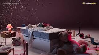 Colchón Exprés Consigue un descanso bárbaro para tu hijo/a con Sonpura Play anuncio