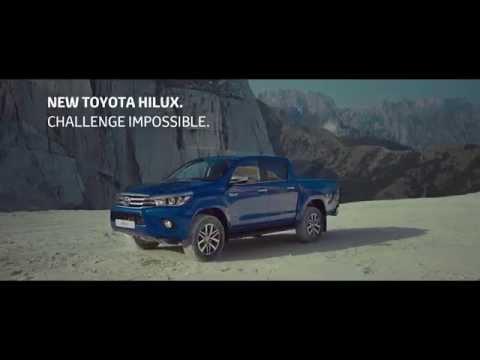 Toyota  Hilux Пикап класса J - рекламное видео 4