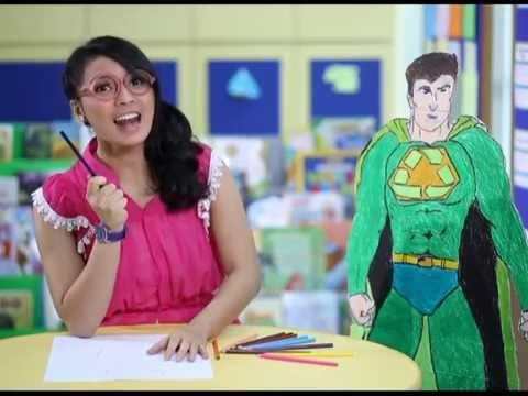 Widi Dwinanda - Ayo sekolah TVRI (Superhero part.1)