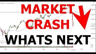 MARKET CRASH   WHATS NEXT
