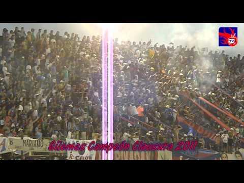"""Güemes Campeón   Clausura 2011"" Barra: Los Pibes • Club: Güemes"