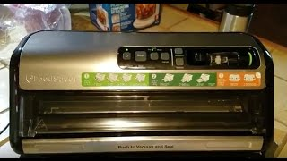 Vacuum Sealing Food With The Food Saver FM5200